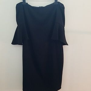 Laundry By Shelli Segal Dresses - NWT Off the shoulder Dress With Bell Sleeve